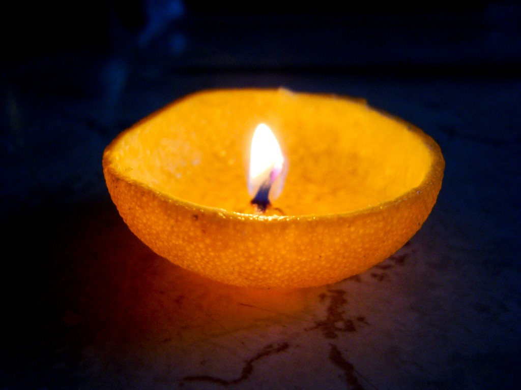 Tangerine Candle